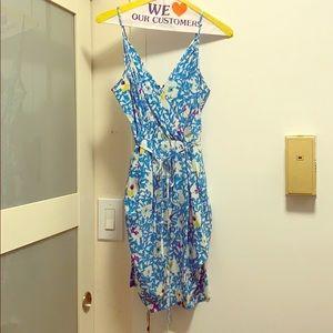 Yumi Kim blue flowered dress